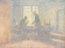 Avant la journee de travail by Jan Toorop