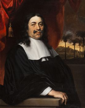 Portrait of Jan van Nes by Jacobus Leveck