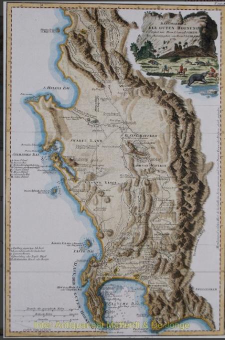 Cape of Good Hope - De la Rochette (1789) by Louis Stanislas De La Rochette