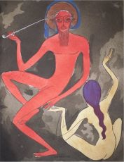 Arabian Nights no 1 by Kees van Dongen