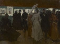 Exhibition in Pulchri, The Hague by Floris Arntzenius
