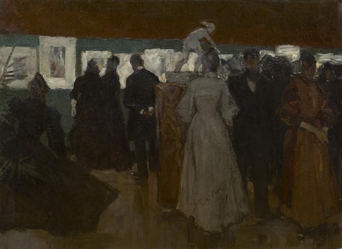 Exhibition in Pulchri, The Hague by Floris Arntzenius