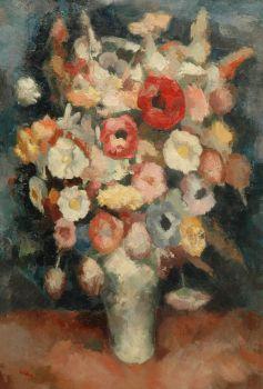 A flower still life II by Toon Kelder