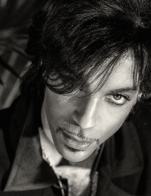 Prince - close up by Steve Parke