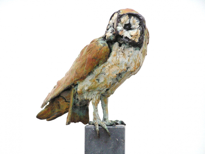 Owl by Jacqueline van der Laan