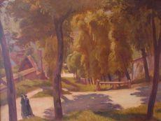 Le Gripaut à Tonnère by Emile Bernard