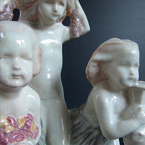 Art deco  figures by Charlotte Monginot