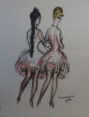 'Les Mannequins' by Kees van Dongen