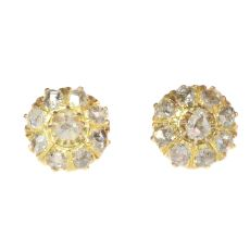 Antique Victorian diamond earstuds by Unknown