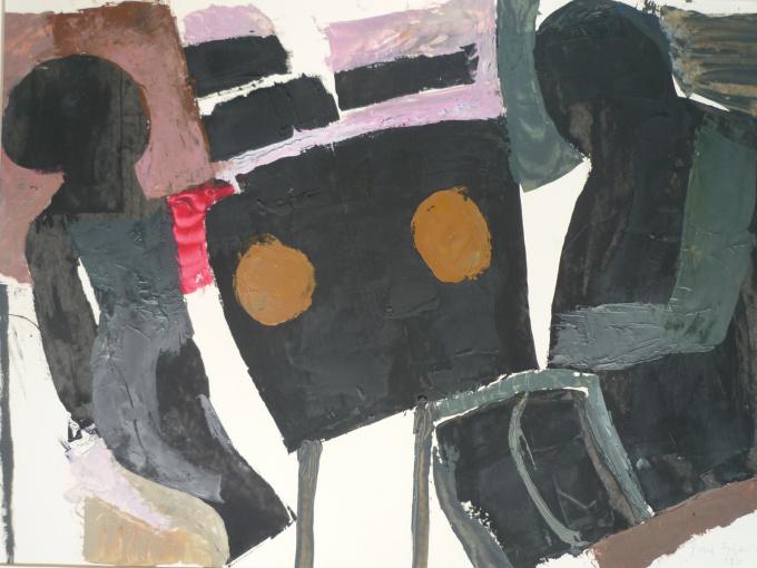 'Aan Tafel' by Gène Eggen