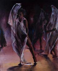 Dance for new light 150 x 120 cm   by Lizette Luijten