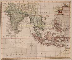 South East Asia  East Indies by  Emanuel Bowen
