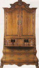 A colonial bureau-cabinet