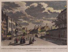 LOOFHUTTENFEEST BIJ DE SYNAGOGES IN AMSTERDAM   by Jacobsz., Caspar Philips (1732-1789)