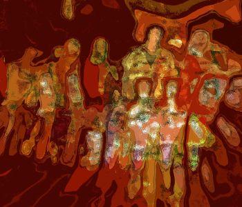 'Gathering' by Dominique Landau