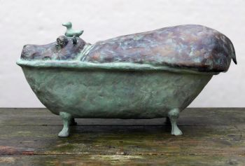 Kopje onder XL (Submerged XL) by Annemarie van der Kolk