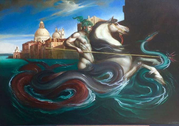 Particolare Tipo di Pesca by Giovanni Tommasi Ferroni
