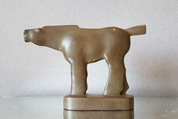 Zoals Een Pijl - Bronze Sculpture - In Stock by Kobe .