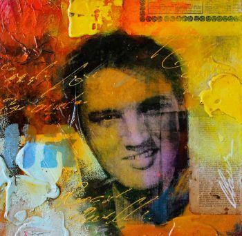 Elvis Presly by Claus Costa