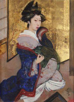Japanese Geisha by Roland Strasser