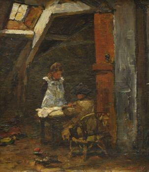 the painter's children by Willem de Zwart
