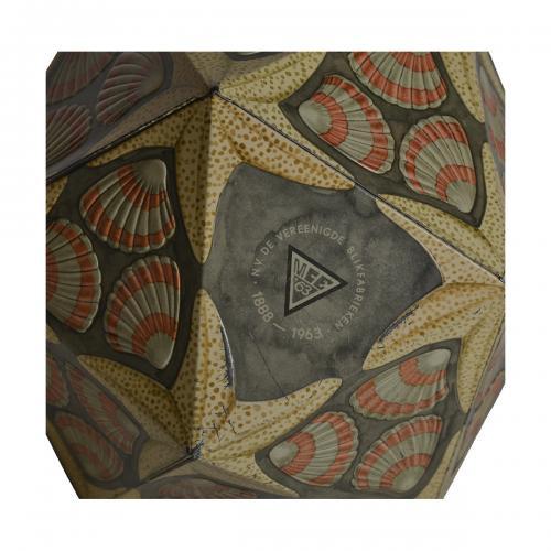 M.C. Escher chocolate tin can for VERBLIFA by Maurits Cornelis Escher