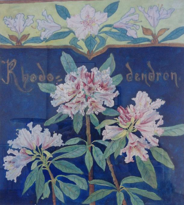 Rhododendrons by Emilie van Kerckhoff