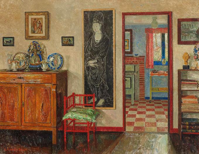 Interior of the Artist by Léon De Smet