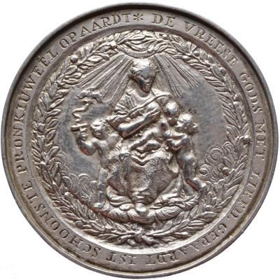 z.j. (1650-1655). Algemene huwelijkspenning by Pieter van Abeele