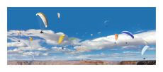 Paragliders by Ralf Peters