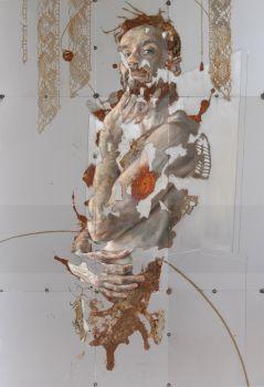 White arabesque by Sabatino Cersosimo