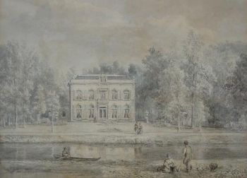 Groenevecht (1869) by Petrus Josephus Lutgers