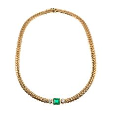 Steltman emerald necklace by Steltman