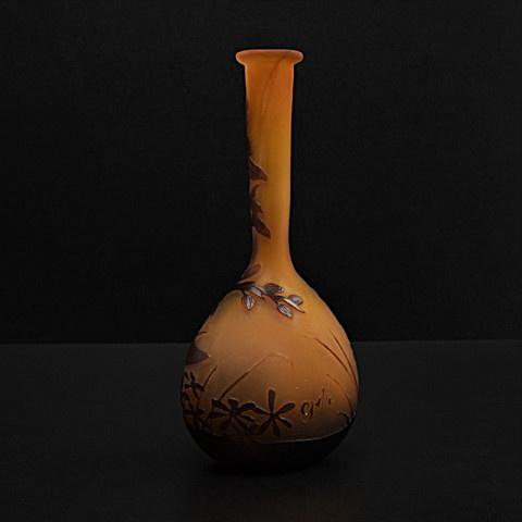 Solifleur vase by Gallé by Emile Gallé