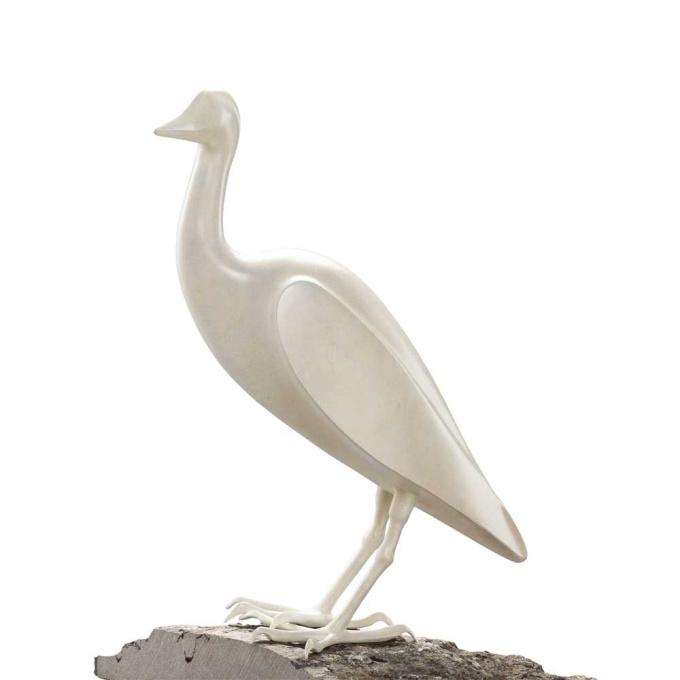 Egret by Mark Dedrie