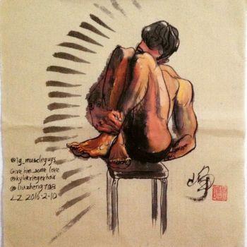 @ig-muscleguys by Liu Zheng