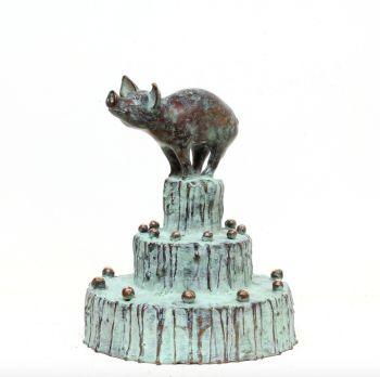 Birthday piglet by Annemarie van der Kolk