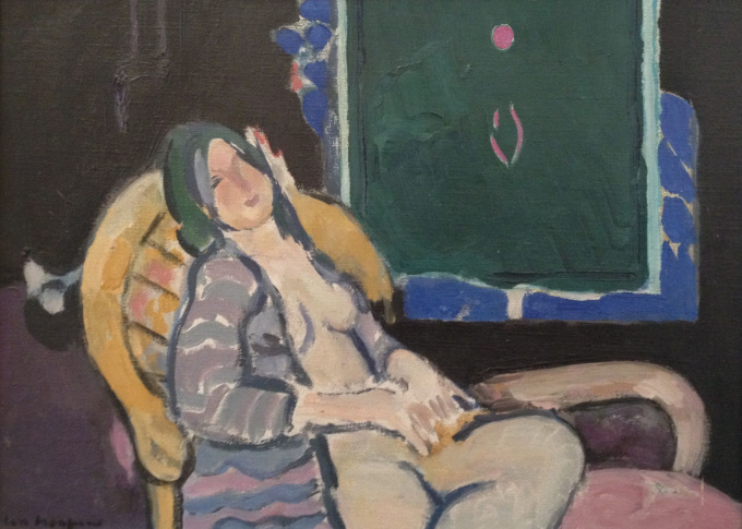 Muse on sofa by Paul Hugo ten Hoopen