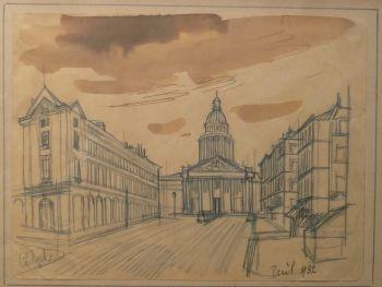 'Pantheon Parijs' by Charles Eyck