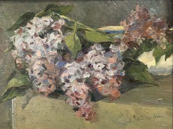 Lilacs by Natalia Abutkhova