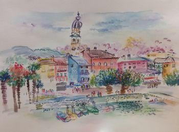 Summer in Ascona Ticino by Iam Anna