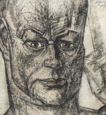 Portrait of Hein Boeken by Jan Toorop