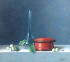 Still life with snow berries