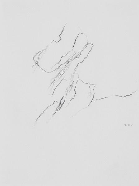 'Zonder titel' by Armando (Herman Dirk van Dodeweerd)