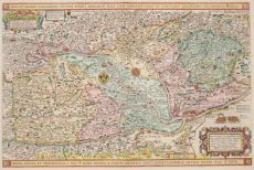 Fine and rare map of Greater Hungary  by Doetecum, Ioannes van