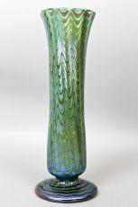 Loetz Green Phaenomen Vase by Lötz Witwe / Klostermühle (Glass manufacturer)