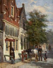 Streetscene in Monnickendam