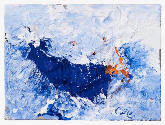 Zeegolf VII (Sea Wave VII) by Jan Cremer
