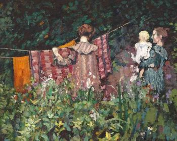 Au Jardin by Georges Lemmen