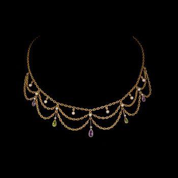Suffragette necklace by Unknown Artist